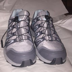 Salomon trail runners. In great condition, size 8